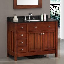 "Lyon 42"" Single Bathroom Vanity Set"