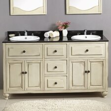 "Birmingham 60"" Double Bathroom Vanity Set"