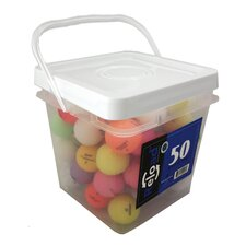 High Grade Crystal Mix Golf Balls (Set of 50)