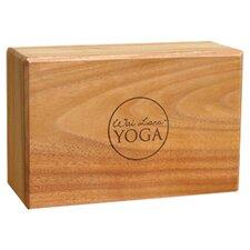 """4"""" Teak Yoga Block"""