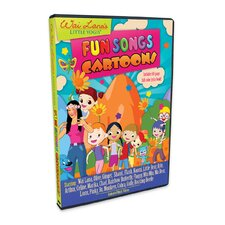 Little Yogis Kids Fun Songs Cartoon DVD with Lyrics Book