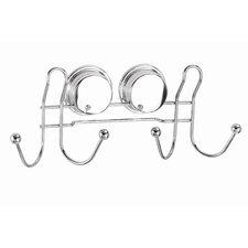 Twist N' Lock Plus Wall Mounted Double Robe Hook