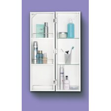 "Polar 9.84"" x 31.5"" Surface Mount Medicine Cabinet"