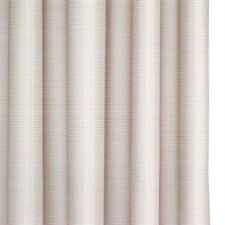 Cross Hatch Polyester Textile Shower Curtain