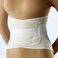 Universal Compression Lumbosacral Support in White