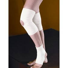 Slip-On Knee Support Low-Profile in Cream