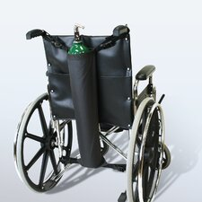 Oxygen Cylinder Wheelchair Holder