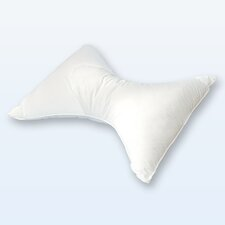Butterfly Pillow in White