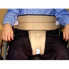 Wheelchair Cushion Slider Belt with Tie Closure