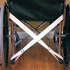 Wheelchair Seat Belt with Adjustable Loop-Over Kick Spurs