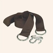 <strong>Bliss Hammocks</strong> Tree Straps and 'S' Hooks (Set of 2)