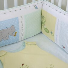 <strong>The Little Acorn</strong> Sweet Pea Baby 4 Piece Crib Bedding Set