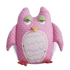 <strong>The Little Acorn</strong> Baby Owls Pillow