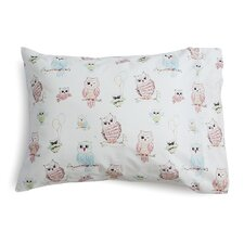 Baby Owls Toddler Cotton Pillow