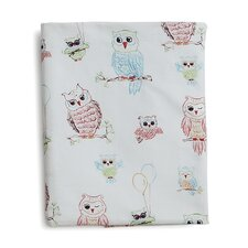 <strong>The Little Acorn</strong> Baby Owls Fitted Sheet