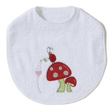 <strong>The Little Acorn</strong> Alphabet Adventure Mushroom Bib
