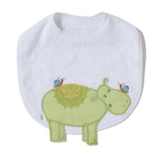 Alphabet Adventure Hippo Bib