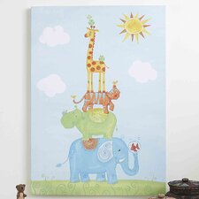 Funny Friends Party Canvas Art
