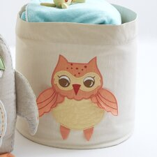 <strong>The Little Acorn</strong> Baby Owls Toy Storage Bin