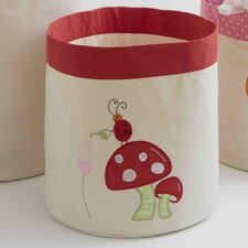 <strong>The Little Acorn</strong> Alphabet Adventure Mushroom Toy Storage Bin