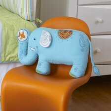 <strong>The Little Acorn</strong> Funny Friends Elephant Pillow