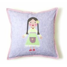 <strong>The Little Acorn</strong> Girl Pillow