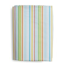 <strong>The Little Acorn</strong> Funny Friends Stripe Fitted Sheet