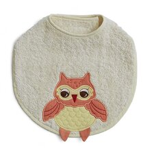 <strong>The Little Acorn</strong> Baby Owls Baby Bib