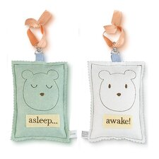 Bear Asleep / Awake Sign