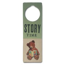 """Story Time"" Door Hanger"
