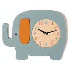 <strong>Tree by Kerri Lee</strong> Elephant Clock