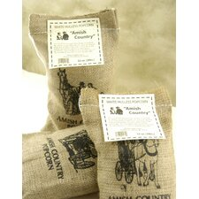 Tender Gourmet Popping Corn with Burlap Sack