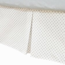 <strong>American Baby Company</strong> 100% Cotton Tailored Bed Skirt