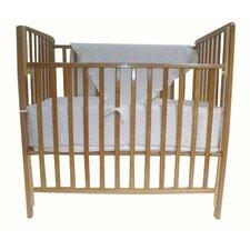Heavenly Soft 3 Piece Minky Dot Mini Crib Set