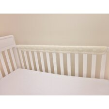 <strong>American Baby Company</strong> Terry Cotton Two Piece Crib Rail Guard