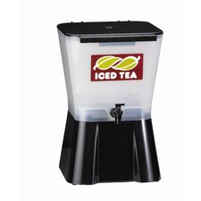 Three Gallon Beverage Dispenser in Black