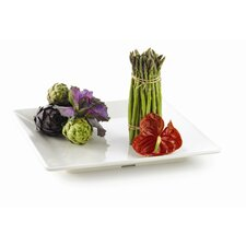 "Frostone 14.25"" Square Serving Tray"