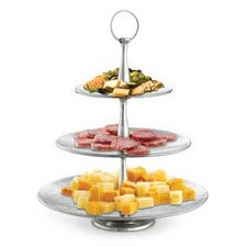 <strong>Tablecraft</strong> Remington Three Tiered Round Serving Set