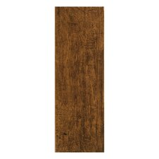 "Colonial Wood 20"" x 6"" Ceramic Floor Tile in Pecan"