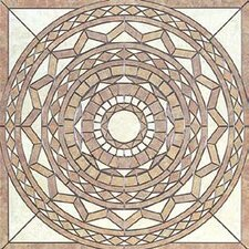 "Creekstone 40"" x 40"" Star Mosaic Universal Medallion"