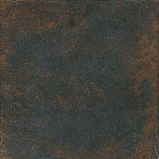 "Iron Slate 13"" x 13"" Porcelain Floor Tile in Oriental Green"
