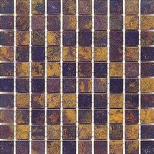 "<strong>Interceramic</strong> Iron Slate 13"" x 13"" Random Mosaic Porcelain Floor Tile"