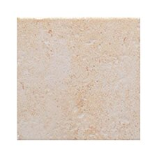 "Montreaux 18"" x 18"" Ceramic Floor Tile in Blanc"