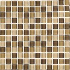 """Shimmer Blends 1"""" x 1"""" Matte Mosaic in Desert"""