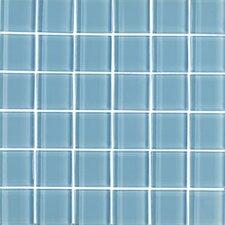 "Shimmer 1"" x 1"" Matte Mosaic in Daylight"