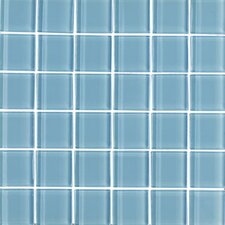 """Shimmer 2"""" x 2"""" Glossy Mosaic in Daylight"""