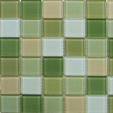 "Shimmer Blends 2"" x 2"" Ceramic Glossy Mosaic in Garden"