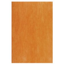 "Aquarelle 18"" x 12"" Ceramic Wall Tile in Earth Orange"