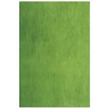 "Aquarelle 18"" x 12"" Ceramic Wall Tile in Light Green"
