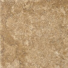 "Artea Stone 20"" x 20"" Field Tile in Noce"